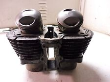 1982 Yamaha XS650S YM213B. Engine top end cylinders jug pistons