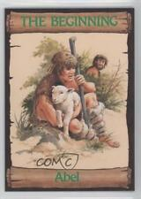 1989 re-Ed Bible Cards The Beginning #9 Abel Non-Sports Card 0q3