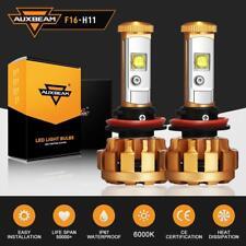AUXBEAM Cree LED Headlight Kit H8 H9 H11 600W 6000LM 6000K Low Beam Fog Bulb HID