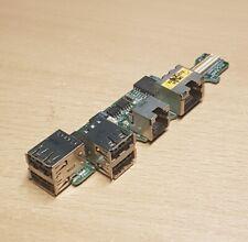 Dell Latitude D520 Usb, Modem & Lan Ports Pcb Board TF046 DA0DM5P18E0
