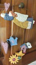 New Dicksons County Angel Xmas Ornament Dangles  Heart Sunflower Birdhouse Sheep