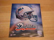 Miami Dolphins Helmet Logo Officially LICENSED 8X10 Photo FREE SHIPPING 3/more