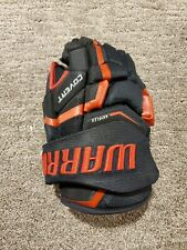 "Warrior Covert Qre Pro Hockey Gloves, Right Hand Only. 12"" Black/Red"