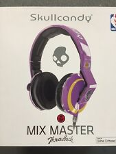 $300 Skullcandy Mix Master Headphones W Mic - Los Angeles Lakers purple