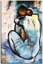 Pablo Picasso-Akt-90x60cm Ölgemälde Handgemalt Leinwand Signiert G03564