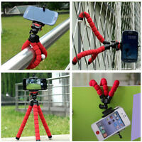 1Pc Portable Mini Flexible Tripod Mobile Phone Stand Holder Mold Iphone Camera