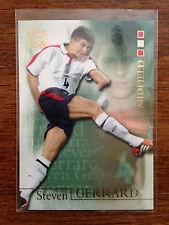 2004 Futera World Football Soccer Card- England STEVEN GERRARD Mint