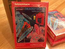 TRON DEADLY DISCS - INTELLIVISION System (RARE GATEFOLD BOX VERSION)  Brand NEW