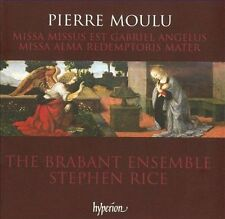 Pierre Moulu: Missa Alma redemptoris mater; etc. (CD, 2010, Hyperion) new