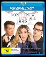 I Don't Know How She Does It  Blu-ray 2 Disc Set - Comedy Pierce Brosnan