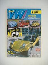 SUPER VW MAG 157 COX GRAPHIQUE-COMBI PICK UP-356 REPLICA-SPECIAL MOON-COX SPLIT