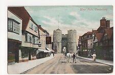 Kent, Canterbury, West Gate Postcard, A681