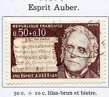 STAMP / TIMBRE FRANCE OBLITERE N° 1667 ESPRIT AUBER