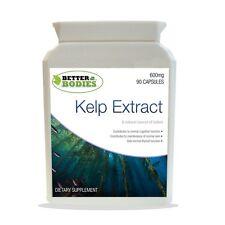 Sea Kelp Super Strength 600mg Capsules Better Bodies 90 Bottle