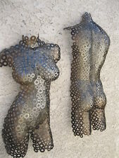 Modern Metal Wall Art Abstract Sculpture Home Decor Nude Torso By Holly Lentz