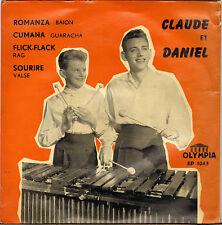 "CLAUDE ET DANIEL ""FLICK-FLACK"" 60'S EP OLYMPIA 1043"