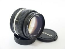 Nikon Nikkor 50mm F1.4 AI-S Manual Focusing Prime Lens + Filter. Stock No u9645