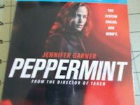 Peppermint DVD (2018) BRAND NEW - Not Sealed