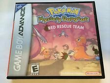 Pokemon Mystery Dungeon Red Rescue Team - GBA - Replacement Case - No Game