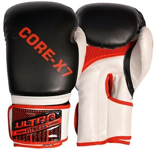 Boxing Gloves Gel Sparring Punching Bag Mitts Training MMA Muay Thai 8-16oz