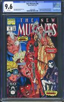New Mutants 98 (Marvel) CGC 9.6 White Pages 1st appearance of Deadpool