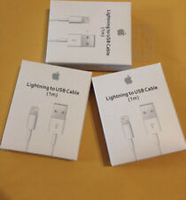 3 x OEM OlLighting USB Charger Data Cable Apple iPhone 5 6 7 8  X