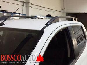 Black Roof Rails Suitable For Mitsubishi Triton MQ 2015-2019