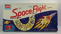Vintage 1960's Space Flight Board Game No. 2403 by Ideal Spellbinder Games EUC