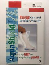 AquaShield WaterProof Cast and Bandage Protector LEG  -One Regular Half Leg
