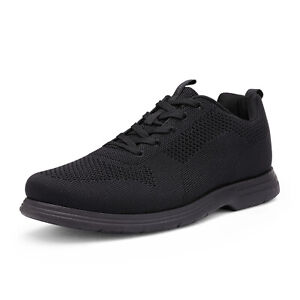 Mens Fashion Sneakers Knit Casual Shoes Comfort Lace up Walking Shoe Size 6.5-13