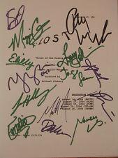 Lost Signed Tv Script Josh Holloway Matthew Fox Jorge Garcia Lilly Ravin reprint