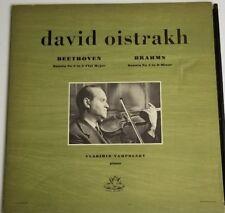 Beethoven Brahms David Oistrakh Violin Yampolsky Angel Records 35331