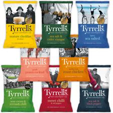 Tyrrells Crisps Mixed Case   8 Flavours   Full Case 24x40g