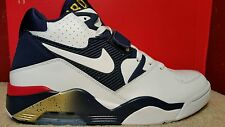 New NIKE AIR FORCE 180 Size 11 Barkley White Navy Red USA 310095-100 Mens Shoes