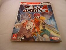 Wild Arms 4 Playstation 2 Ps2 Strategy Guide Player's Hint Book
