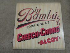 BIG BAMBU SOBRINOS DE CHEECH Y CHONG ALCOY VINYL LP 1978 WARNER BROS (C3-1)