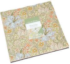 """Morris Garden Moda Layer Cake 42 100% Cotton 10"""" Precut Quilt Squares"""