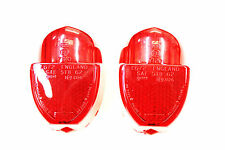 TRIUMPH SPITFIRE MKI, MKII & MKIII A PAIR OF REAR LAMP LENSES 511800 (L672 )