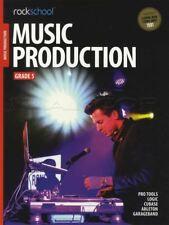 Rockschool Music Production Grade 5 Pro Tools Logic Cubase Ableton Exam Tests