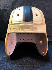 Sammy Baugh Signed Washington Redskins Leather Suspension Full Size Helmet JSA