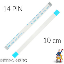2x 14 Pin Power Button Flex Cable Soft Ribbon Replace For Sony PS4 Controller JD