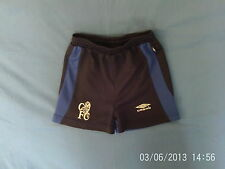 Boys 4-5 Years - Navy & Blue Chelsea FC Football Shorts - Umbro