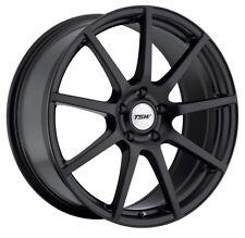20x10 TSW Interlagos 5x112 Rims +54 Matte Black Wheels (Set of 4)