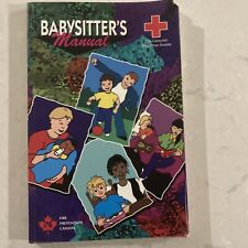 BABYSITTER'S MANUAL by The Canadian Red Cross Society