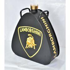 Aluminium Lamborghini Oil Petrol Jerry Can Reproduction Brass Cap Car Garage