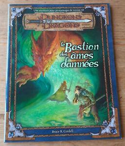 Dungeons & Dragons 3.0 - Le Bastion des Âmes Damnées - Excellent état