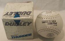 New Dudley White Thunder Softball