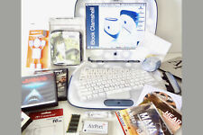 Apple iBook Clamshell G3 16GB SSD . S.E. DVD . OSX TIGER = SUPERB ⭐️⭐️⭐️⭐️⭐