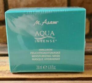 M.Asam  Aqua Intense Hyaluron Feuchtigkeitsmaske 200ml  NEU / OVP in Folie