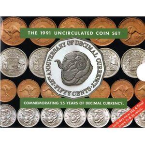 1991 Australian Mint Set